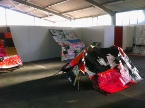 Installation Kunsthalle Siegburg Zelt 140605_new